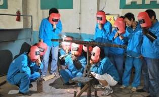 深圳龙华民治观湖焊工培训班开课了