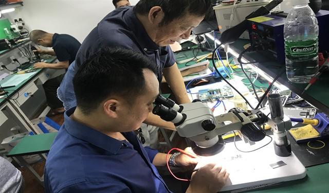成都手机维修培训正规专业压屏器