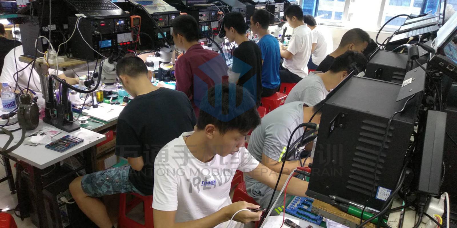 中育为-[手机维修]深圳万通手机维修培训学校苹果安卓手机维修课程