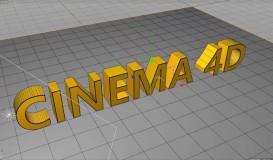 CINEMA 4D 三维广告酷炫视觉展示设计