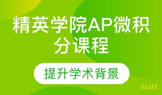 中育為-[出國/留學]青島小站教育精英學院AP微積分課程