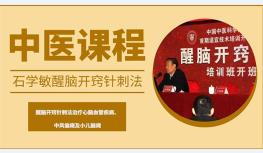 【5月21日北京】石學敏院士親授醒腦開竅針法提升班